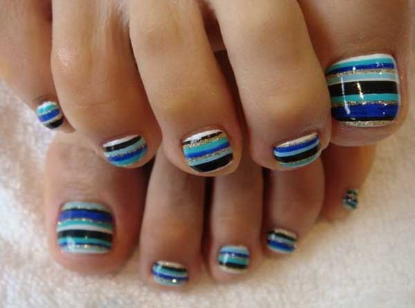 Diy Retro Nail Art Fabdiy