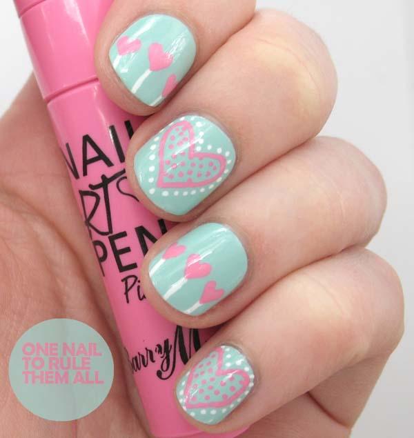 Nail Art Pen Designs Photo 3