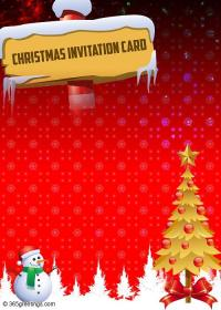 Invitation card design for christmas merry christmas and happy new more from this website invitation card for christmas stopboris Choice Image