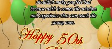 50th birthday wishes greetings - 50th Birthday Wishes