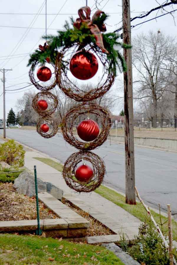 Christmas Outdoor Decorations Pinterest Window New Interior Design Ideas 600x450