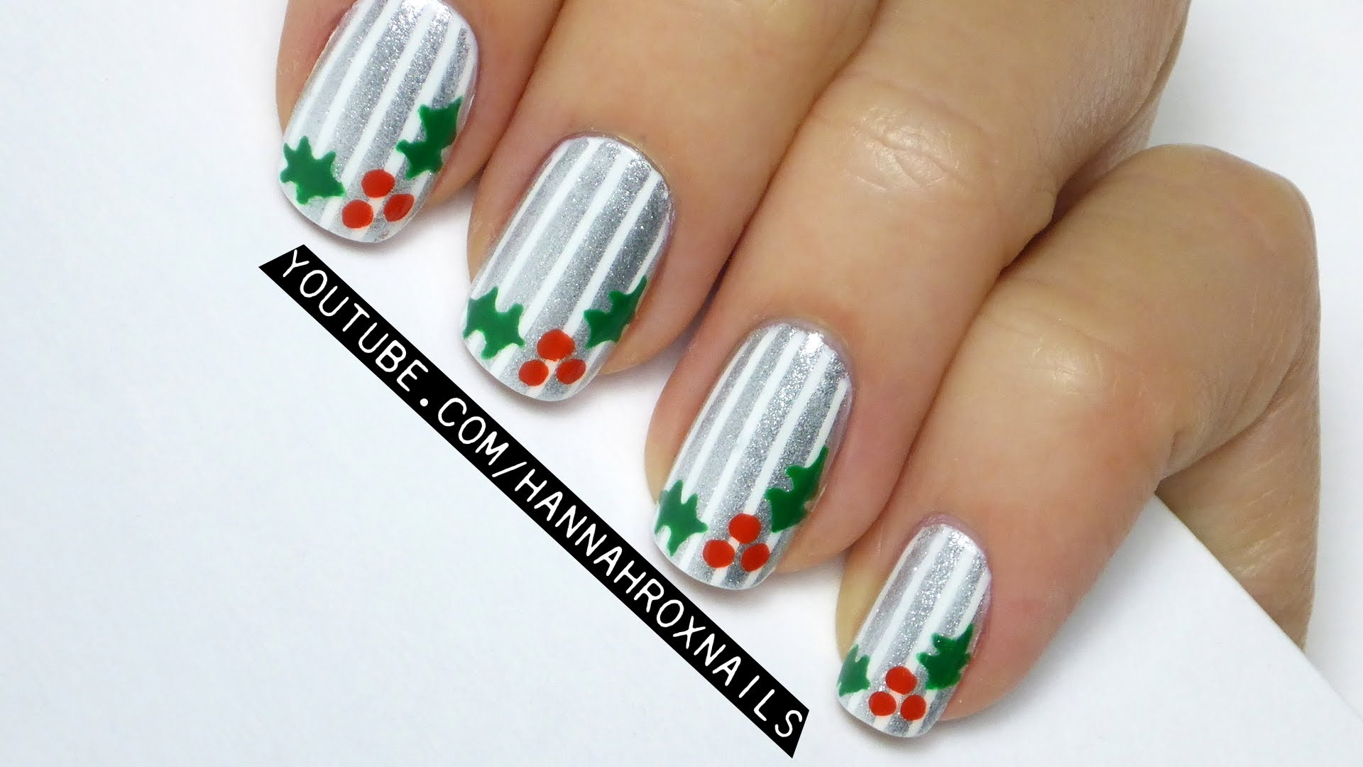 Graduation hat nail art nail art ideas top 51 most beautiful christmas nail art ideas for you to try prinsesfo Image collections