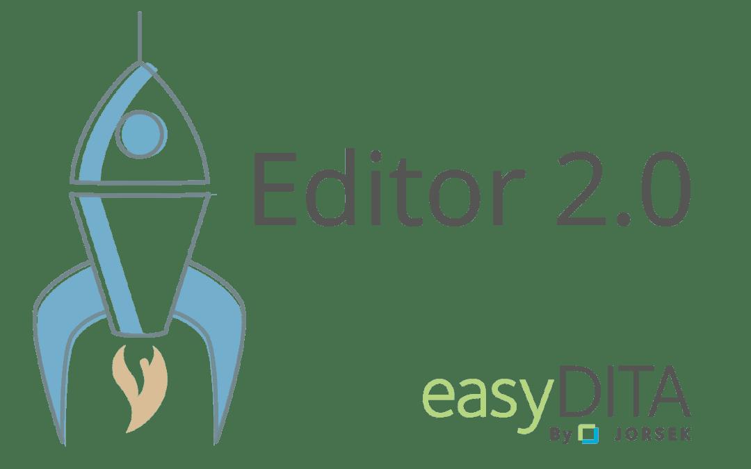 easyDITA Editor 2.0
