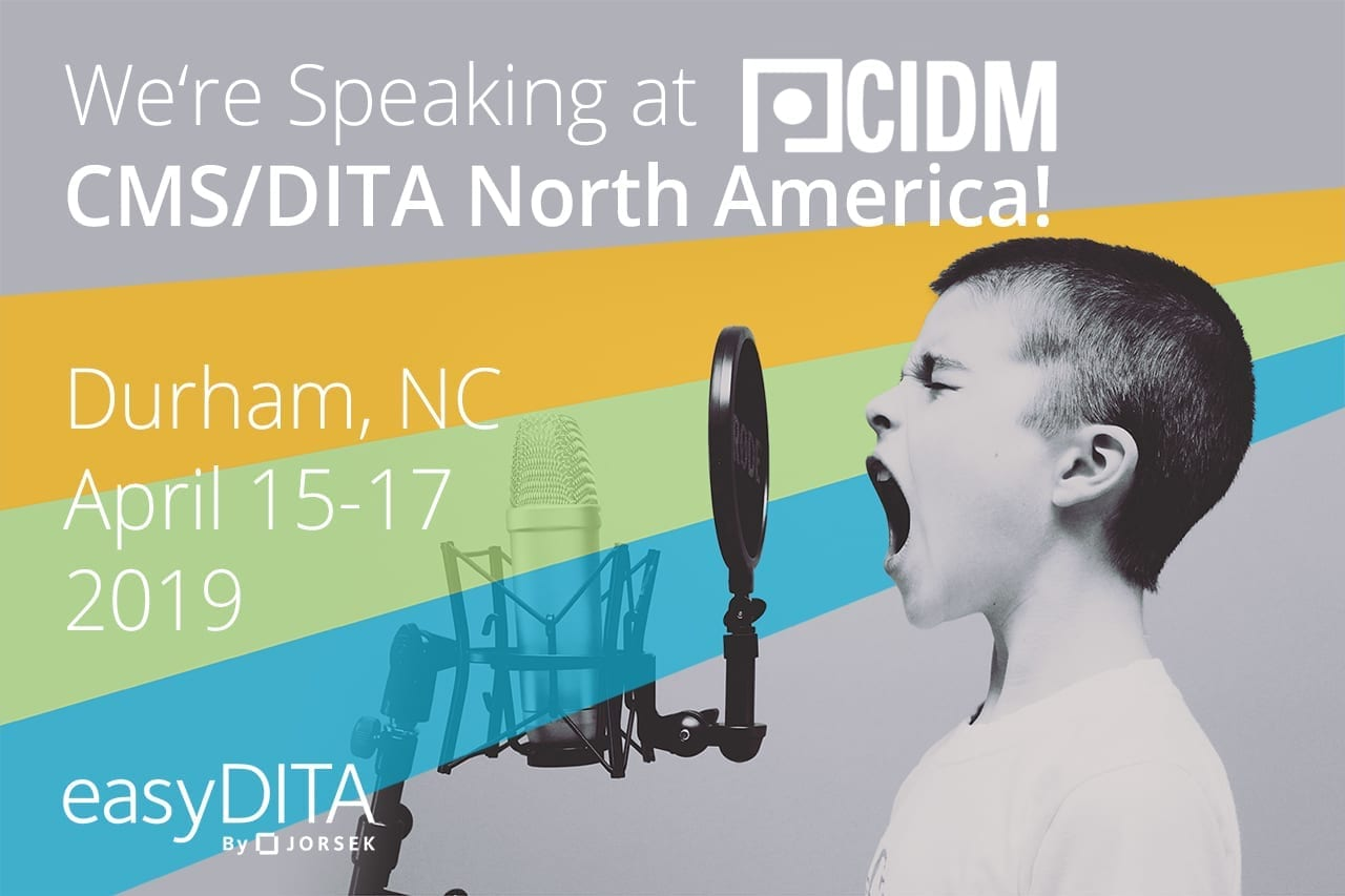 3f606f9b9e4d We re Speaking at CMS DITA North America! - easyDITA