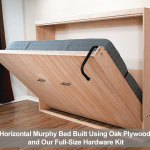 Horizontal Queen Size Kit Easy Diy Murphy Bed