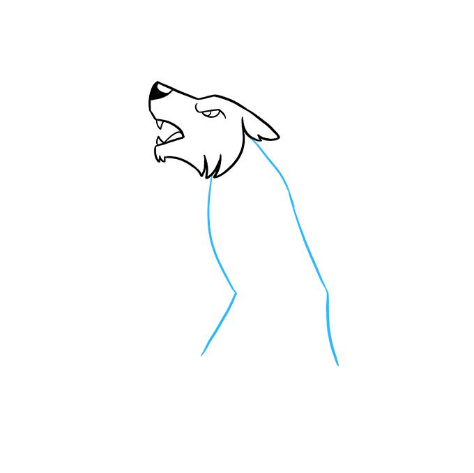 How To Draw A Werewolf Really Easy Drawing Tutorial