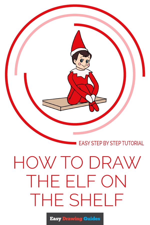 How To Draw The Elf On The Shelf Really Easy Drawing Tutorial