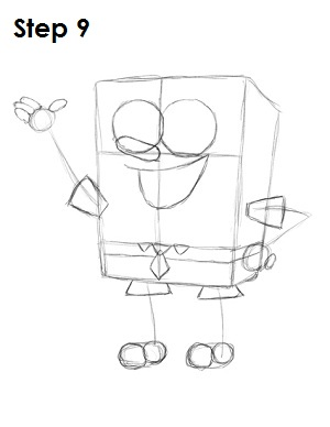 Draw SpongeBob SquarePants