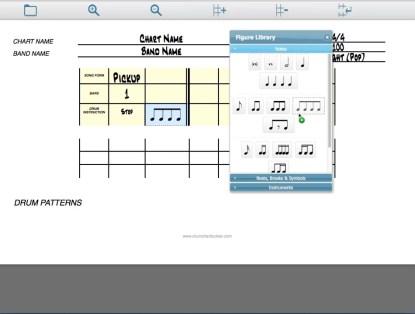 Drum Chart Builder A new drum charting software program. Designed by Liz Ficalora