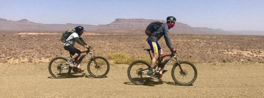 Easy E-Biking - Tourism In Morocco, from the Atlas to the Sahara, on an electric mountain bike