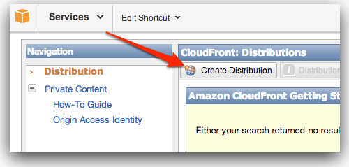 Amazon Cloudfront CDN with W3 Total Cache WordPress