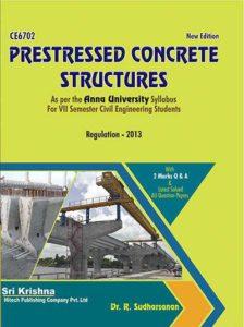 PDF] CE6702 Prestressed Concrete Structures (PCS) Books, Lecture