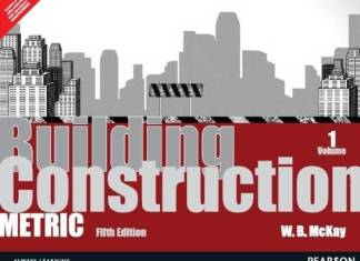 Building Construction : Metric Volume 1 By W.R.Mckay