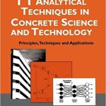 Handbook of Analytical Techniques in Concrete Sciences and Technology By V.S.Ramachandran and James J.Beaudoin