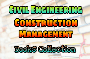 Construction Management Books Collection