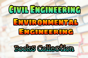 Environmental Engineering Books Collection