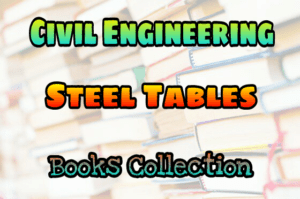 Steel Table By R.Agor (M.K.S Units and S.I.Units) Birla Publications