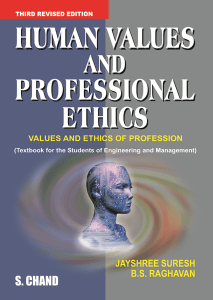 GE6075 Professional Ethics in Engineering