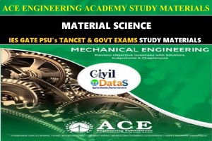 MATERIAL SCIENCE ace academy notes