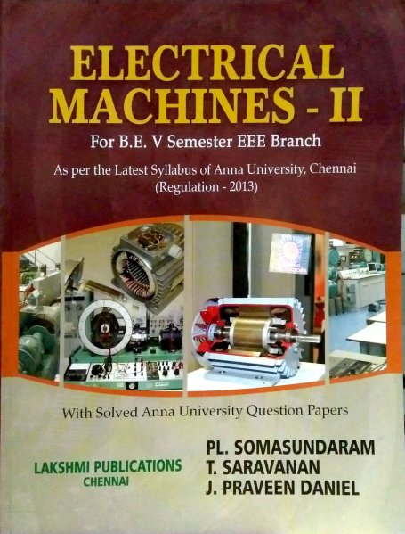 PDF  EE6504 Electrical Machines II  EM II  Books  Lecture Notes      PDF  EE6504 Electrical Machines II  EM II  Books  Lecture Notes  2marks  with answers  Important Part B 16marks Questions  Question Bank   Syllabus