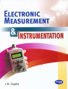 EE6404 Measurements and Instrumentation