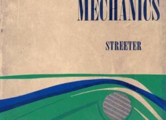Fluid Mechanics Book (PDF) By Streeter International Student Edition - M/G Book Company – PDF Free Download