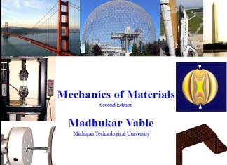 Mechanics of Materials [PDF] By Madhukar Vable