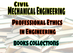 pdf professional ethics in engineering books free download
