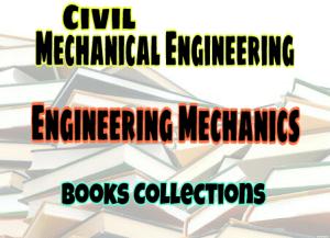 Engineering Mechanics Standard Books – PDF Free Download