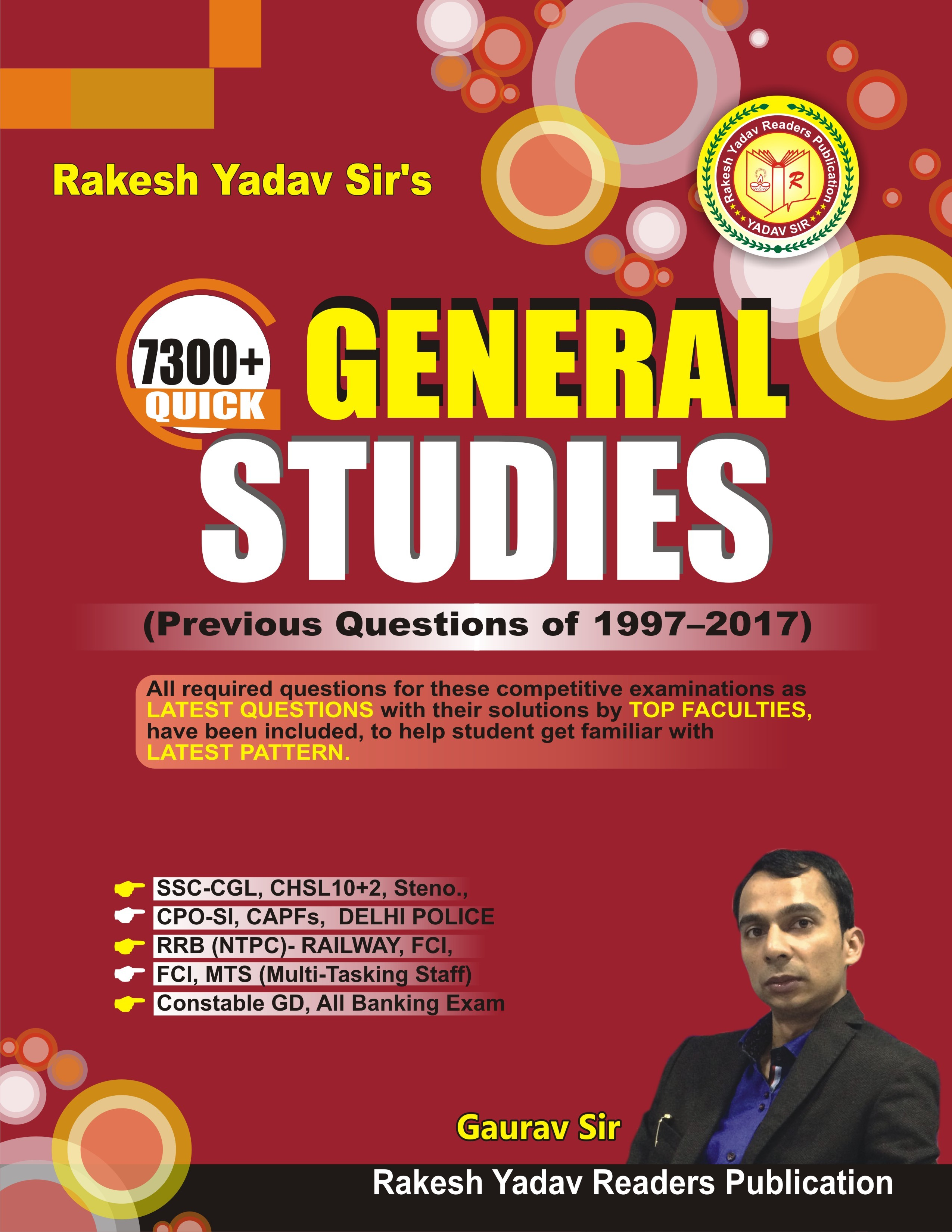 PDF] Rakesh Yadav Sir's 7300+ Quick General Studies By Rakesh Yadav
