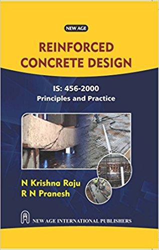 reinforced concrete design principles  practice   krishna raju rn pranesh book