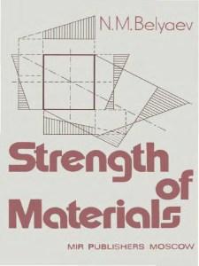 Strength Of Materials By N.M.Belyaev
