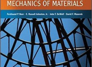 Statics and Mechanics of Materials [PDF] By Ferdinand Beer, E. Russell Johnston, John T. Dewolf, David Mazurek – PDF Free Download