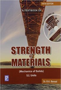 A TEXTBOOK OF STRENGTH OF MATERIALS BY DR.R.K.BANSAL