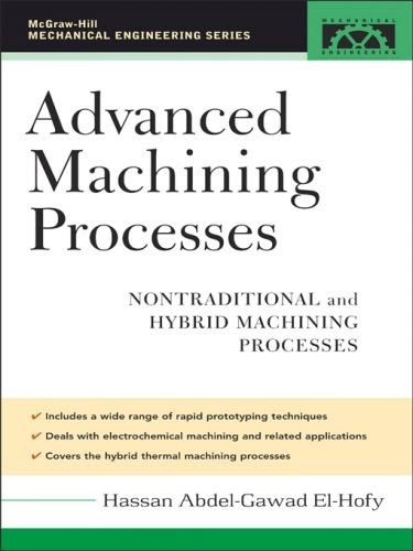 ADVANCED MACHINING PROCESSES NONTRADITIONAL AND HYBRID MACHINING PROCESSES BYHASSAN ABDEL-GAWAD EL-HOFY