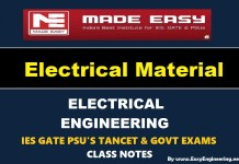 Electrical Material Made Easy IES GATE PSU's TANCET & GOVT Exams Study Material For Electrical Engineering – PDF Free Download