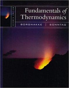 FUNDAMENTALS OF THERMODYNAMICS 7TH EDITION BY CLAUS BORGNAKKE, RICHARD E. SONNTAG