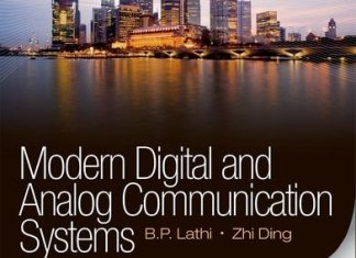 Modern Digital and Analog Communication Systems Solutions Manual By B.P. Lathi,‎ Zhi Ding – PDF Free Download