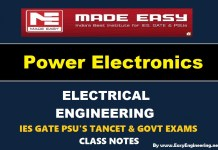 Power Electronics Made Easy IES GATE PSU's TANCET & GOVT Exams Study Material For Electrical Engineering – PDF Free Download