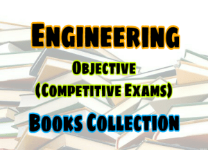 Objective Type Questions Books Collection – PDF Free Download