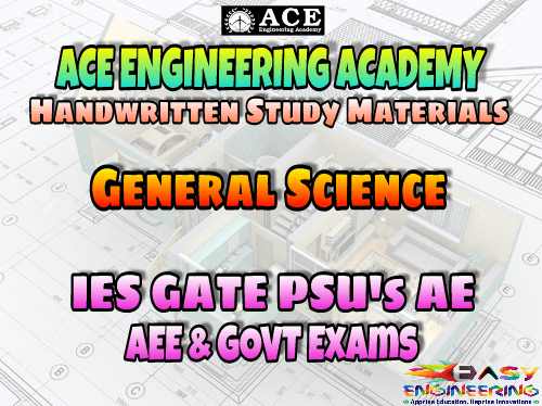 PDF] General Science ACE Engineering Academy AE AEE National