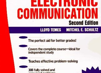 Schaum's Outline of Electronic Communication By Lloyd Temes, Michel E. Schultz – PDF Free Download