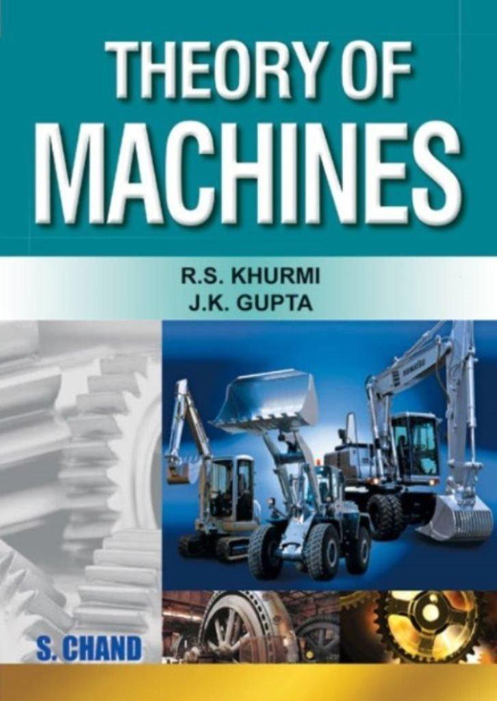 Theory Of Machines Standard Books – PDF Free Download