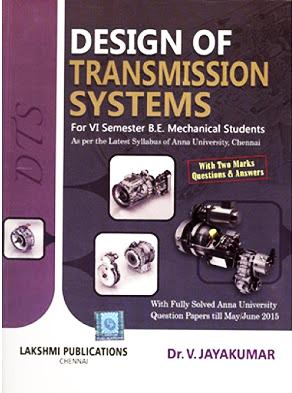 Design Of Transmission Elements Ebook