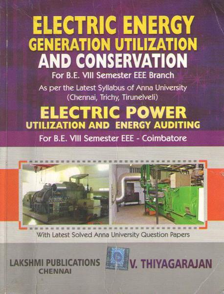 Pdf Ee6801 Electrical Energy Generation Utilization And Conservation Eeguc Books Lecture Notes 2marks With Answers Important Part B 16marks Questions Question Bank Syllabus Easyengineering