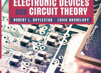Electronic Devices and Circuit Theory By Robert L Boylestad