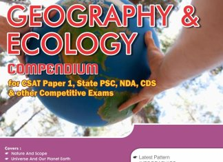 The Geography and Ecology Compendium for CSAT - Paper 1 State PCS CDS NDA and other Competitive Exams By Disha Experts Book Free Download