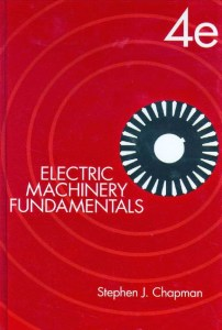 Electric Machinery Fundamentals By Stephen J Chapman