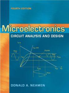 Microelectronics Circuit Analysis and Design By Donald Neamen Book