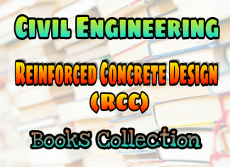 Reinforced Concrete Design Or Reinforced Cement Concrete